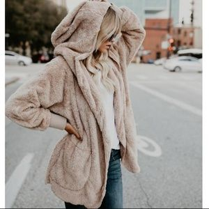 Vici Coziest Yet Pocketed Cardigan Jacket